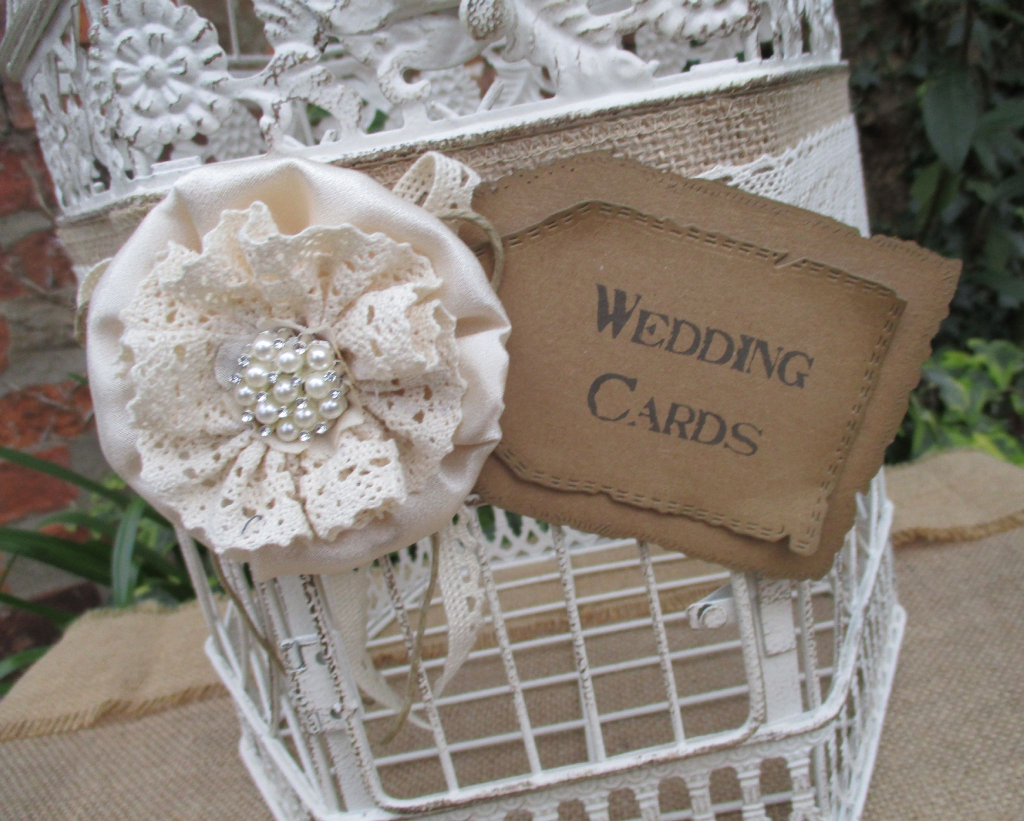 Wedding Card Post Box Card Gift Holder